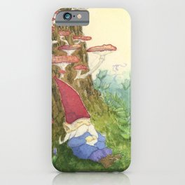 The Sleeping Gnome iPhone Case