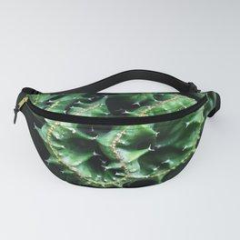 Emerald green Cactus Botanical Photography, Nature, Macro, Fanny Pack
