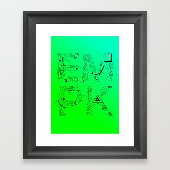 EMPK Framed Art Print