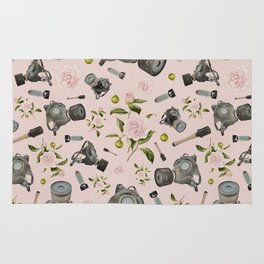Don't stop to smell the roses Rug