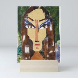 Dark Lady #PrideMonth Collage Portrait Mini Art Print