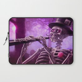 """""""Move your body!"""" - The musician skeleton Laptop Sleeve"""