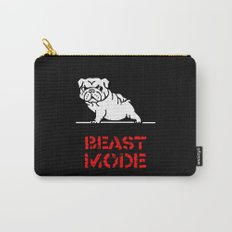 Beast Mode English Bulldog Carry-All Pouch