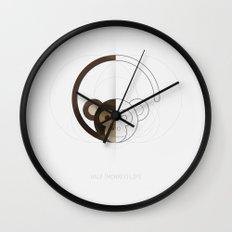 HALF (monkey) LIFE Wall Clock