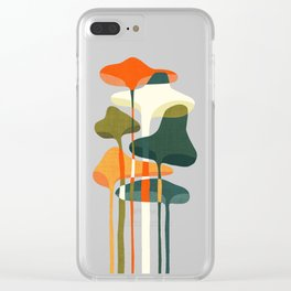 Little mushroom Clear iPhone Case