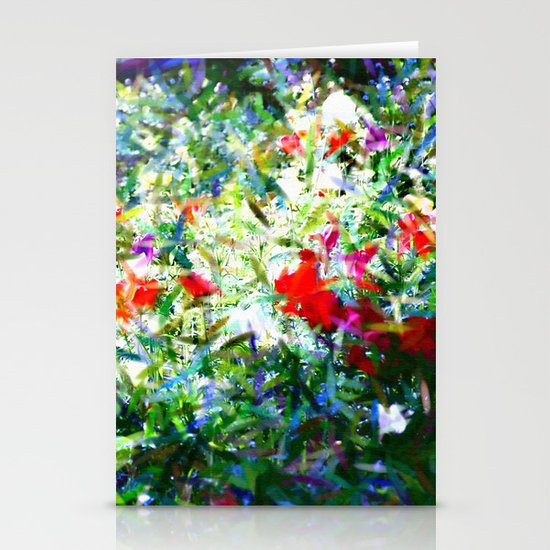Garden Impressionism Stationery Cards