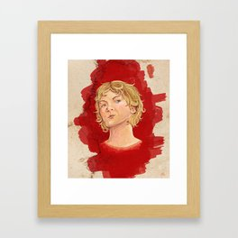 The Luminary Framed Art Print