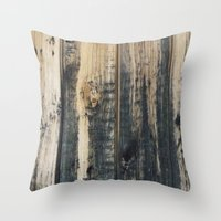 woody Throw Pillows featuring Woody by Sproot