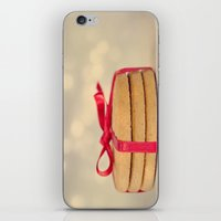 cookies iPhone & iPod Skins featuring cookies by El Diván Azul {Beatriz}
