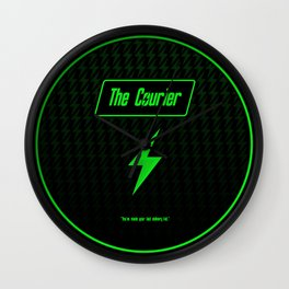 The Courier Wall Clock