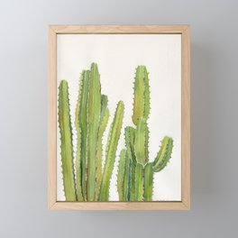 Cactus 2 Framed Mini Art Print