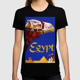 Vintage Egypt Camel Travel T-shirt
