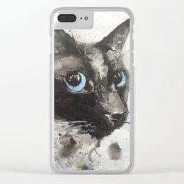 Toki Clear iPhone Case