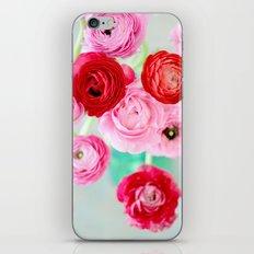 Ranunculus Confetti iPhone & iPod Skin