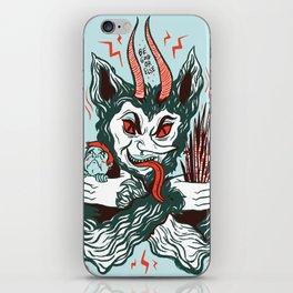 Merry Krampus! iPhone Skin