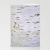 birch Stationery Cards featuring Birch by Marie-Pier Cadorette