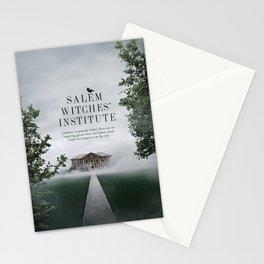 Wizarding Schools Around the World: Salem Stationery Cards
