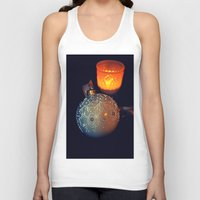 merry christmas Tank Tops featuring Merry Christmas by  Agostino Lo Coco