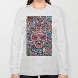 Stan Lee Mosaic Long Sleeve T-shirt