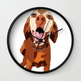 Vizsla Dog Wall Clock