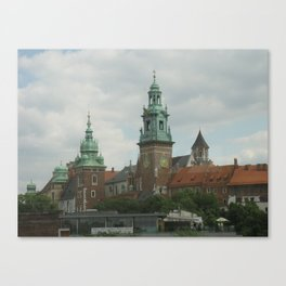 Wawel Royal Castle, Krakow Poland Canvas Print