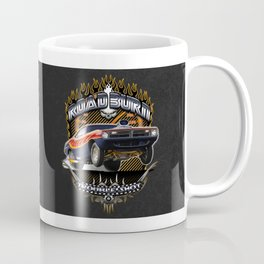 Plymouth Barracuda Road Burn - Muscle Car Coffee Mug