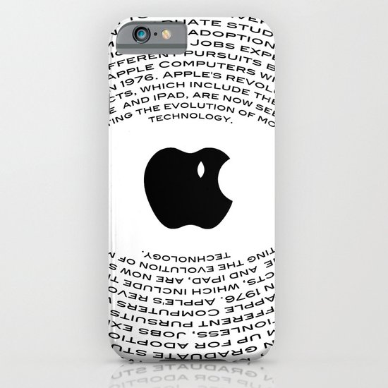 A Tribute To Steve Jobs iPhone & iPod Case