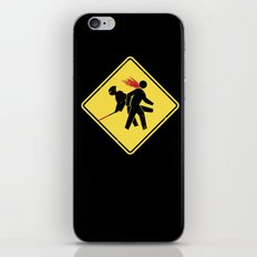 Ninja X-ing iPhone & iPod Skin