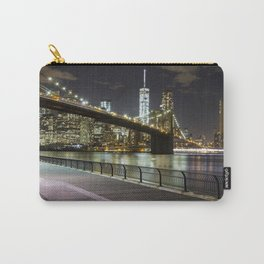 Brooklyn Bridge -  Timelapse Carry-All Pouch