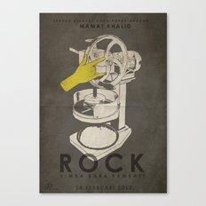 ROCK - Fan Art Film Poster Canvas Print
