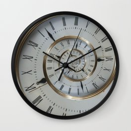 Time goes on and on.... Wall Clock