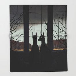 Sentinels Throw Blanket