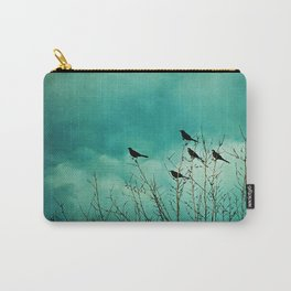 Like Birds on Trees Carry-All Pouch