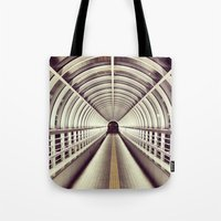bridge Tote Bags featuring Bridge by BarWy