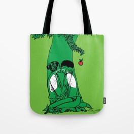The Giving Tree or The Taking Human Tote Bag