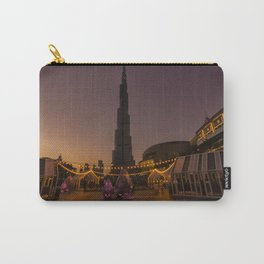 Burj Khalifa sunset Carry-All Pouch