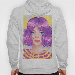 Violetta [Copic and Colored Pencil Semirealistic Portrait] Hoody