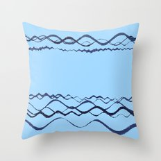 1380249359 in blue Throw Pillow
