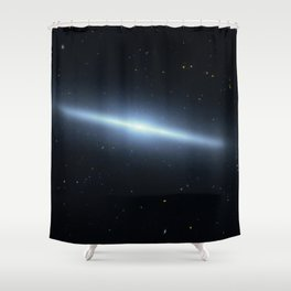 Space galaxy Edgee. Shower Curtain