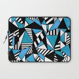 Geometric Blue Laptop Sleeve