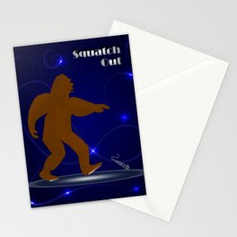 Squatch Out Stationery Cards