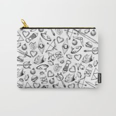 Zelda A Collection of Items Pattern Carry-All Pouch