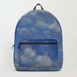 Cloudy sky Backpack