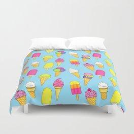Ice cream pattern (Sweet #6) Duvet Cover