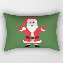 Christmas Santa Claus Says Welcome to You Rectangular Pillow