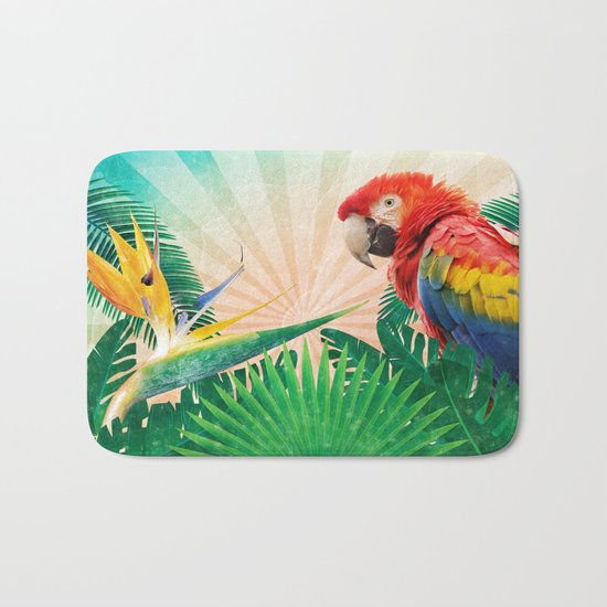 Tropics Bath Mat