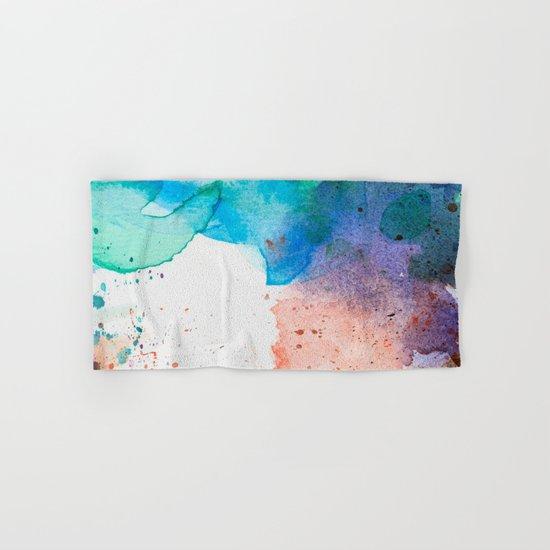 Pastel Color Splash 05 Hand & Bath Towel