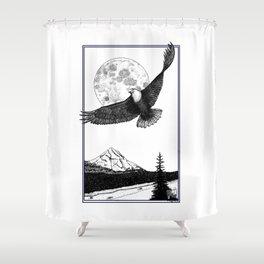 Eagle Mountain Shower Curtain
