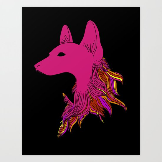 in wolf's clothing Art Print