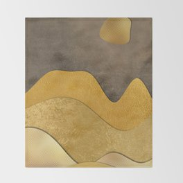 space 6 art #abstract #modernart Throw Blanket